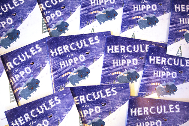 Hercules the Hippo Book Launch