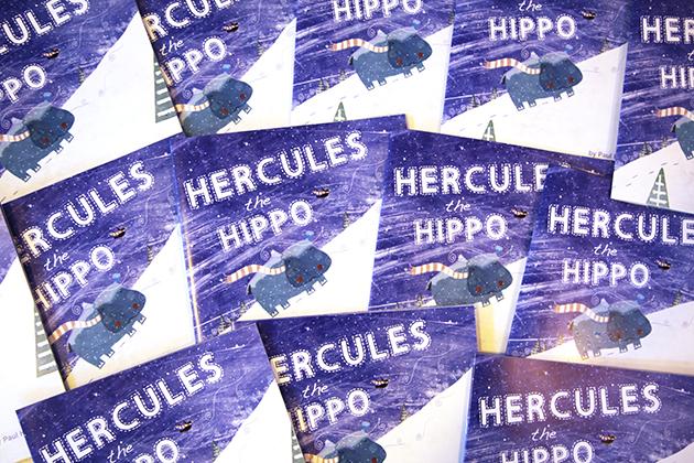 Hercules the Hippo Book Launch